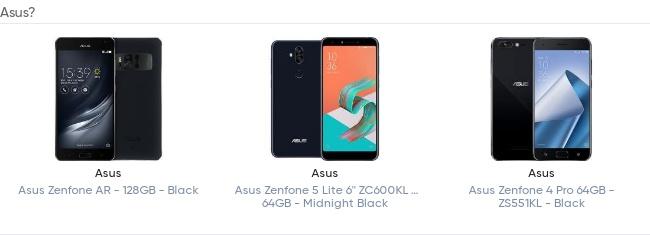 Especificações do Asus Zenfone RoG aparecem online 2