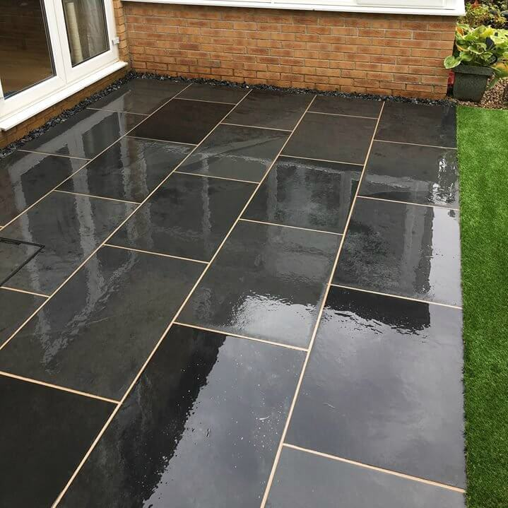 types of paving slabs pros cons
