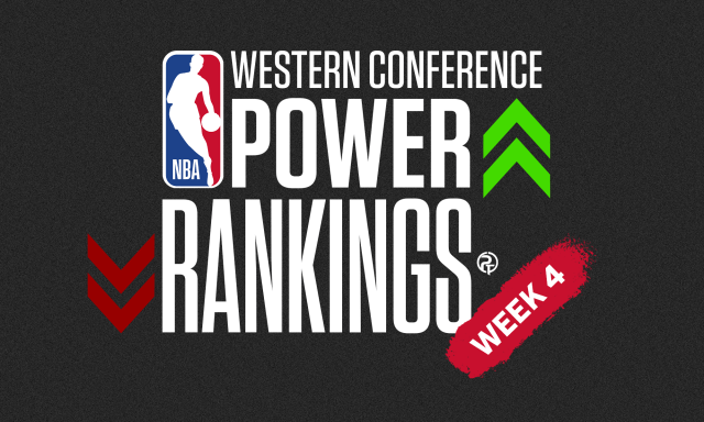 NBA Western Conference Power Rankings