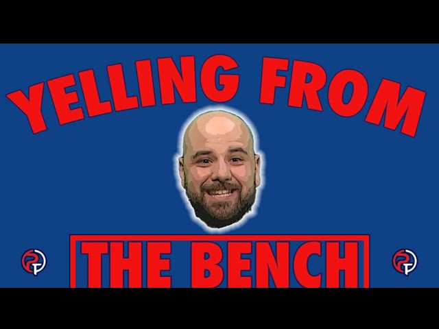 Yelling from the Bench
