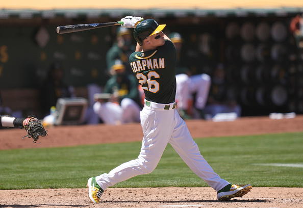 MLB DFS for Monday: Matt Chapman