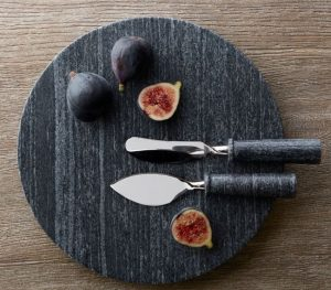 Handcrafted Marble Cheese & Charcuterie Board Gift Set, $59.50