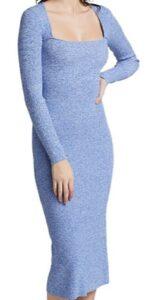 Saks Fifth Avenue Ganni Melange Rib Knit Dress