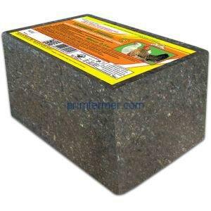 Комбикорм брикет Рябушка для домашней птицы, 2,5 кг