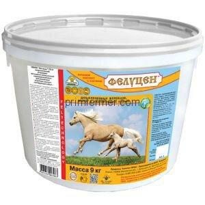 Фелуцен ЛЭ-4 Энергетический для племенных жеребцов, маток и лактирующих кобыл (гранулы) 9кг
