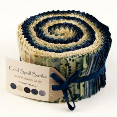 cold spell batiks jelly roll-550x550