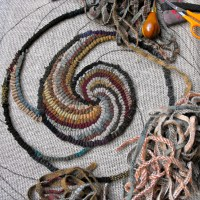 Hook a spiral chair pad with me - Part 3