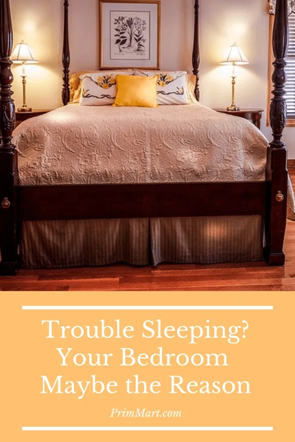 Learn how your bedroom design maybe causing your bad sleep. We have some tips to help you redesign your bedroom into a restful retreat.