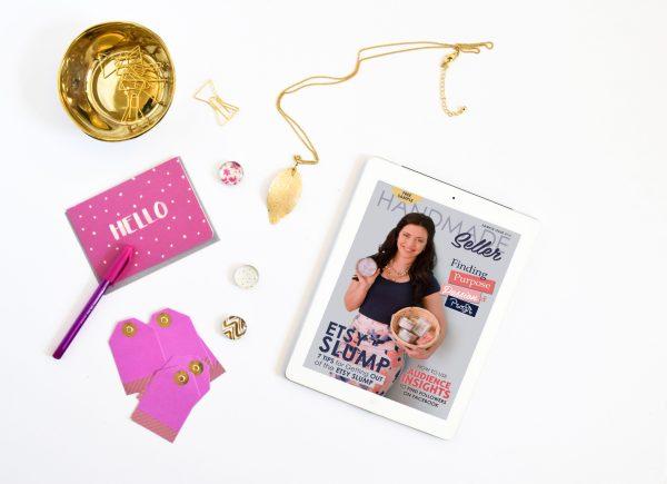 Handmade Seller Magazine Sample