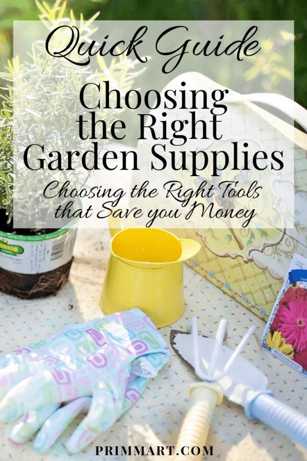 When it comes to the purchase of gardening supplies, there is a lot to think about. We're delving into what to consider when shopping for gardening tools.