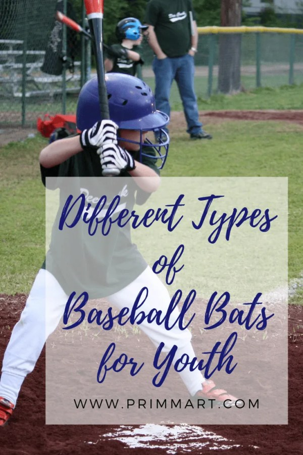 Buying sports equipment for kids can be confusing. We've put together a handy list of different types of baseball bats for youth to help choose.