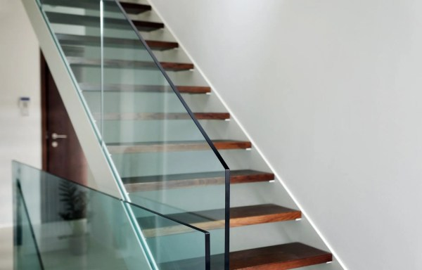 glass fencing and indoor railing