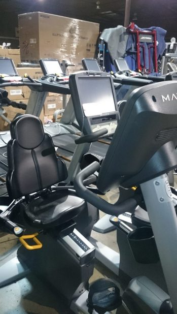 Matrix Touchscreen Recumbent Bike 2
