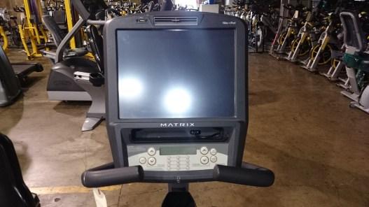 Matrix Touchscreen Recumbent Bike 5