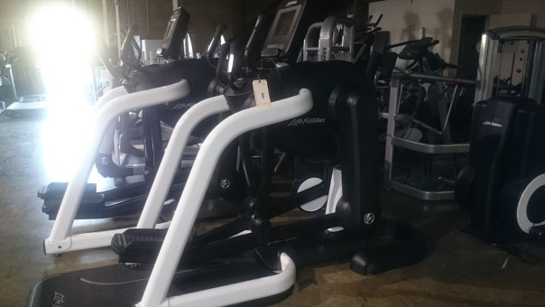 Life Fitness FlexStrider Trainer with Discover SI 5