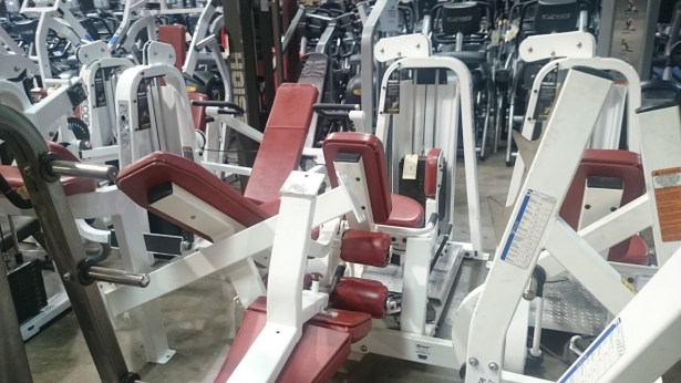 Precor strength line (white) 4
