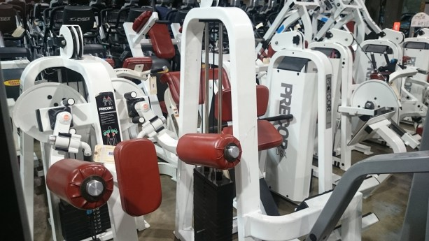 Precor strength line (white) 2