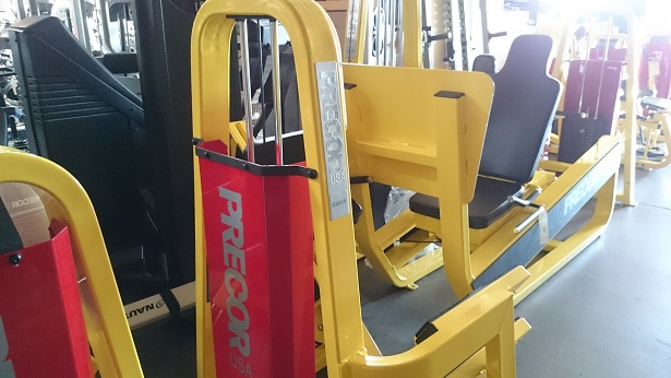 Precor Icarian Strength Line (Yellow) 3