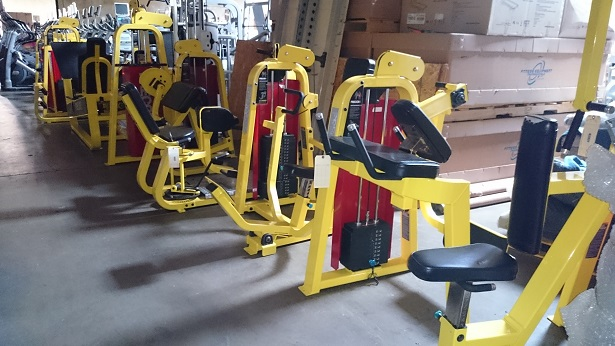 Precor Icarian Strength Line (Yellow) 4