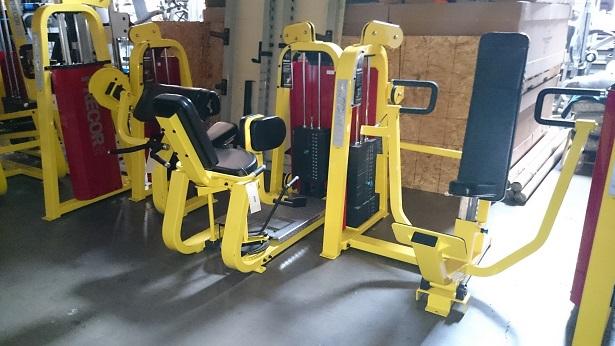 Precor Icarian Strength Line (Yellow) 5