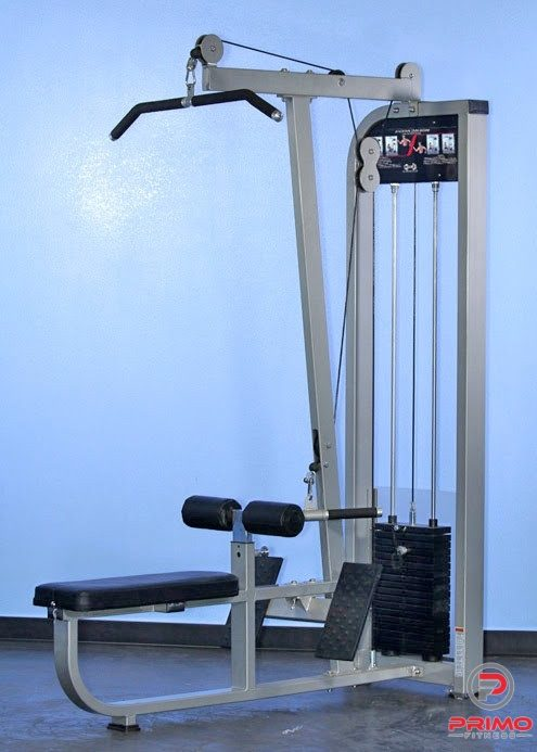 Muscle D Dual Function Lat/Low Row Combo MDD-1004
