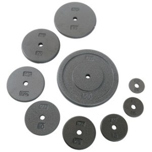 Regular Gray Cast Iron Weight Plates