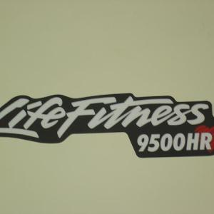 Life Fitness 9500HR Rail Support Overlay