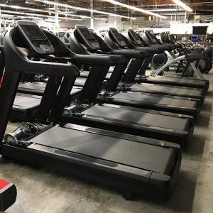Black Custom Color Frame on these treadmills