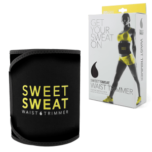 Sports Research Sweet Sweat Waist Trimmer - Yellow