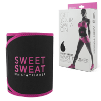 Sports Research Sweet Sweat Waist Trimmer - Pink