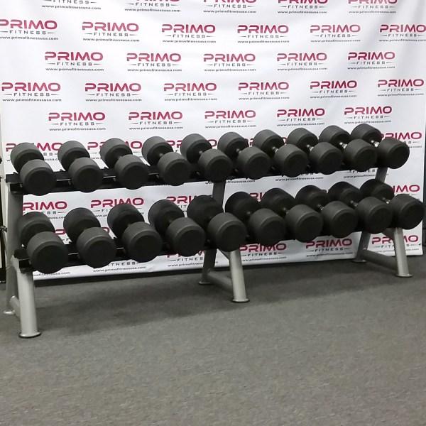 Hampton Dura Pro Round Dumbbells 55 lbs. to 100 lbs.
