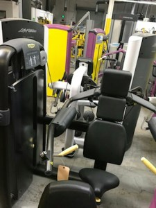 Technogym Delts Machine