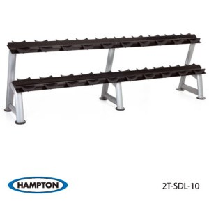 Hampton 2-Tier Dumbbell Rack