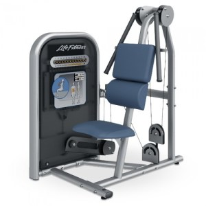 Life Fitness Circuit Series Ab Crunch machine