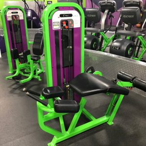 Star Trac Impact Leg Curl and Abductor