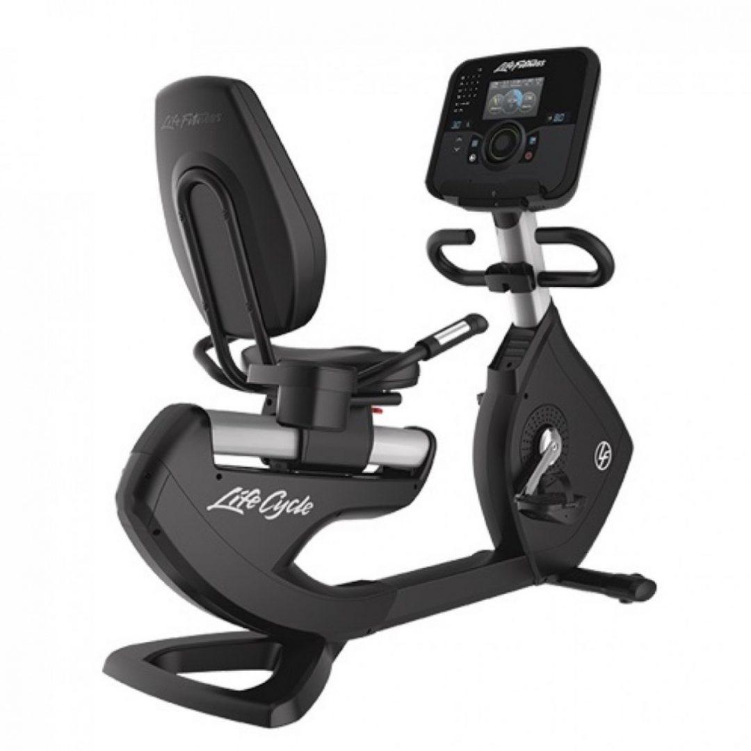 Life Fitness 95R Explore Console Recumbent Bike