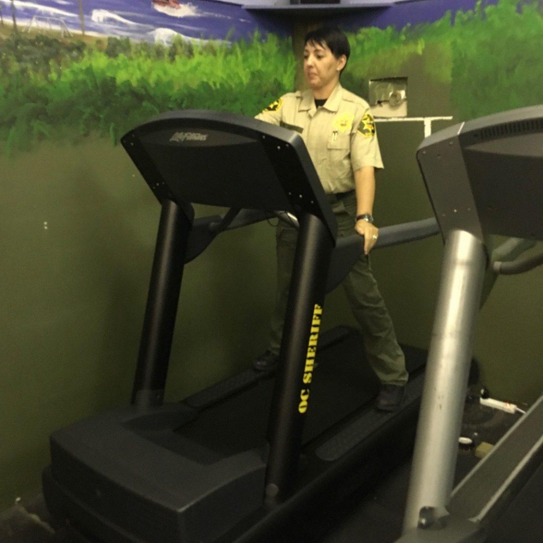 Life Fitness Integrity Treadmills with Logo