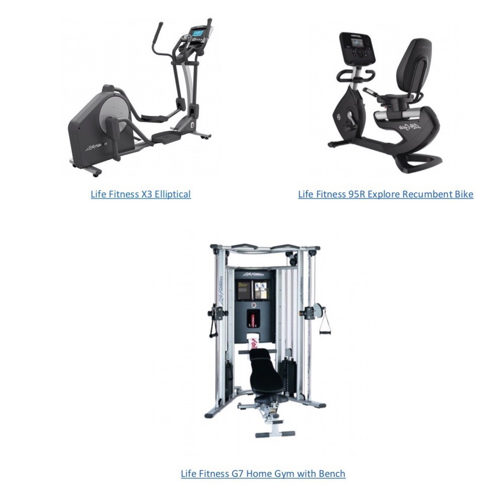 Home garage gym package usd primo fitness