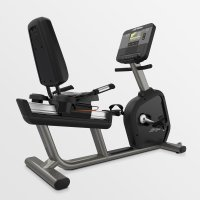 Life Fitness Club Series + Recumbent Lifecycle Bike