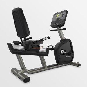 Life Fitness Club Series + Recumbent Lifecycle Bike