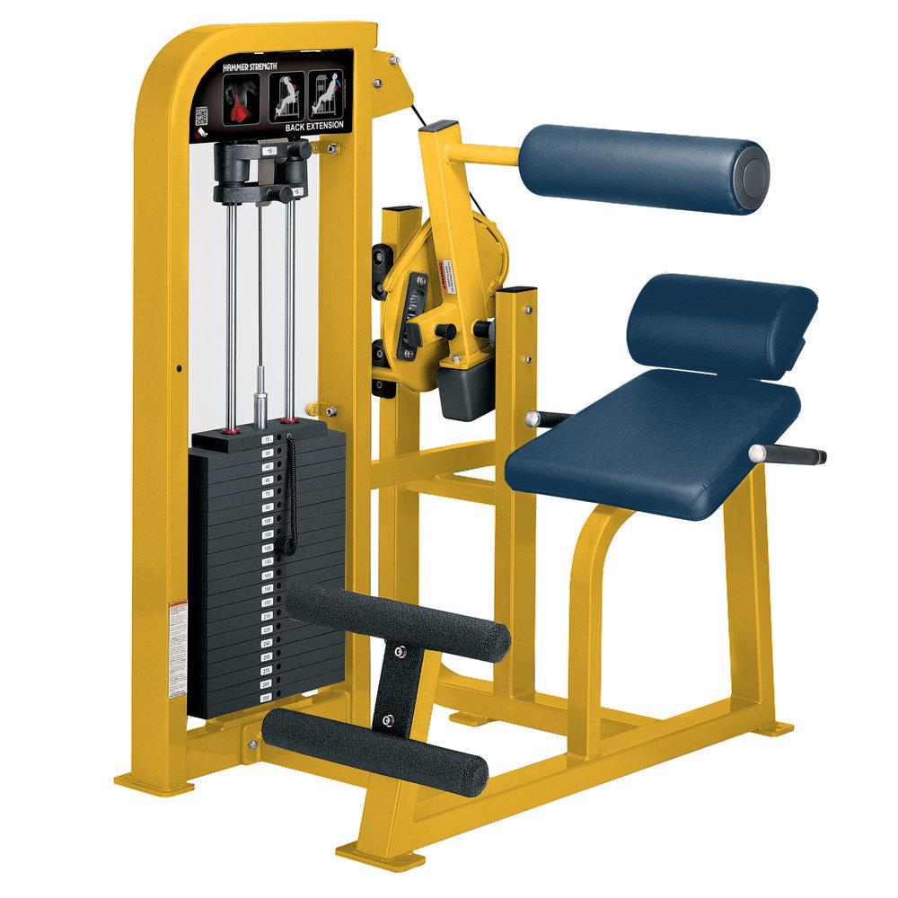 Hammer Strength Seletorized Back Extension