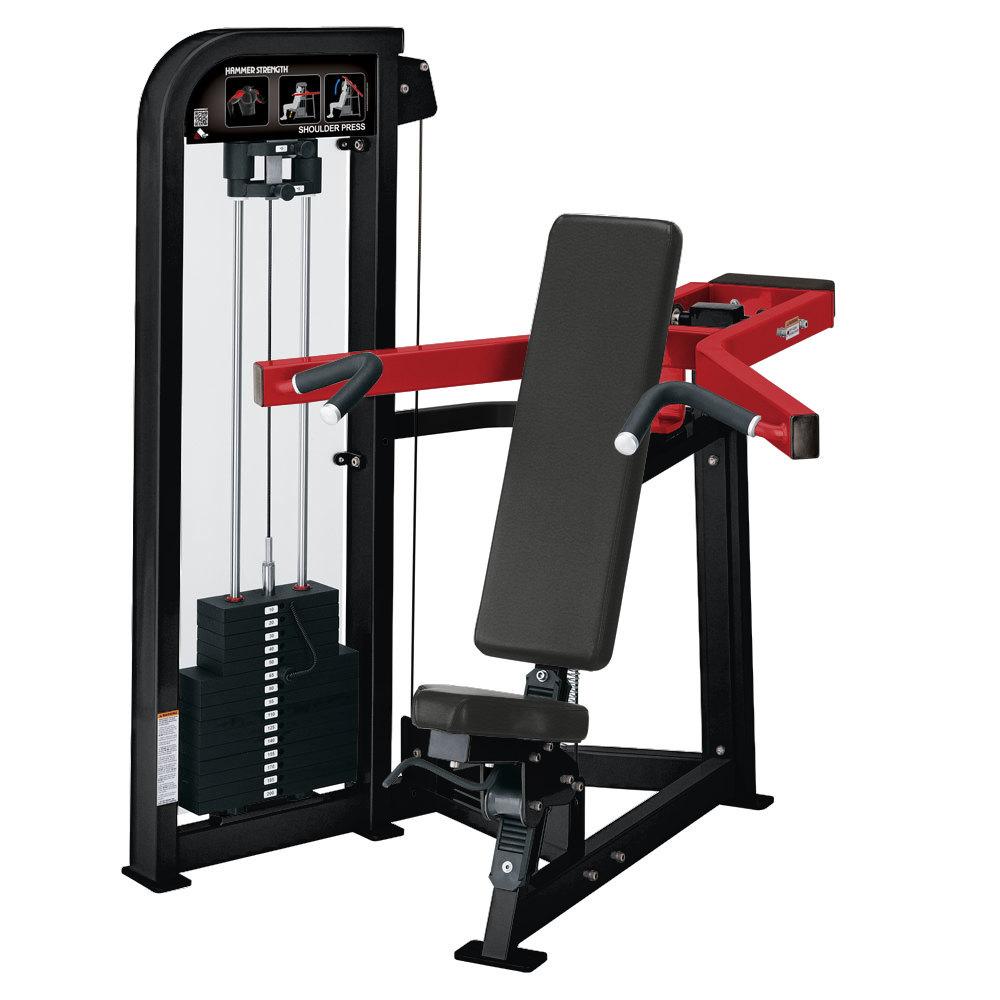 Hammer Strength Select Selectorized Shoulder Press
