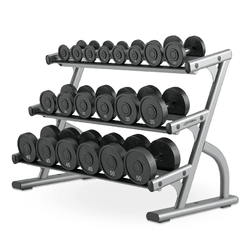 Life Fitness Signature 3-Tier Dumbbell Rack