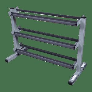 Body-Solid 40 Inch 3-Tier Dumbbell Rack GDR363