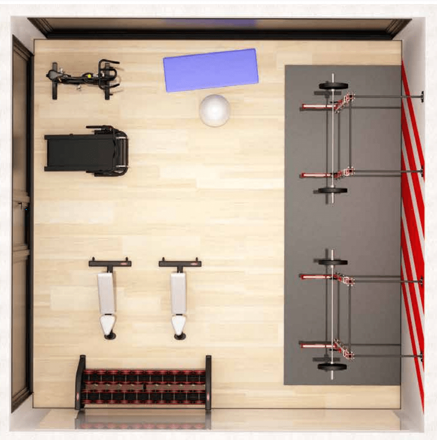 Functional Corner Fitness Area Package