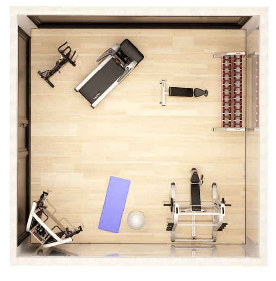 Cardio-Strength Functional Fitness Area Package