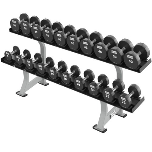 Hammer Strength Two Tier Dumbbell Rack