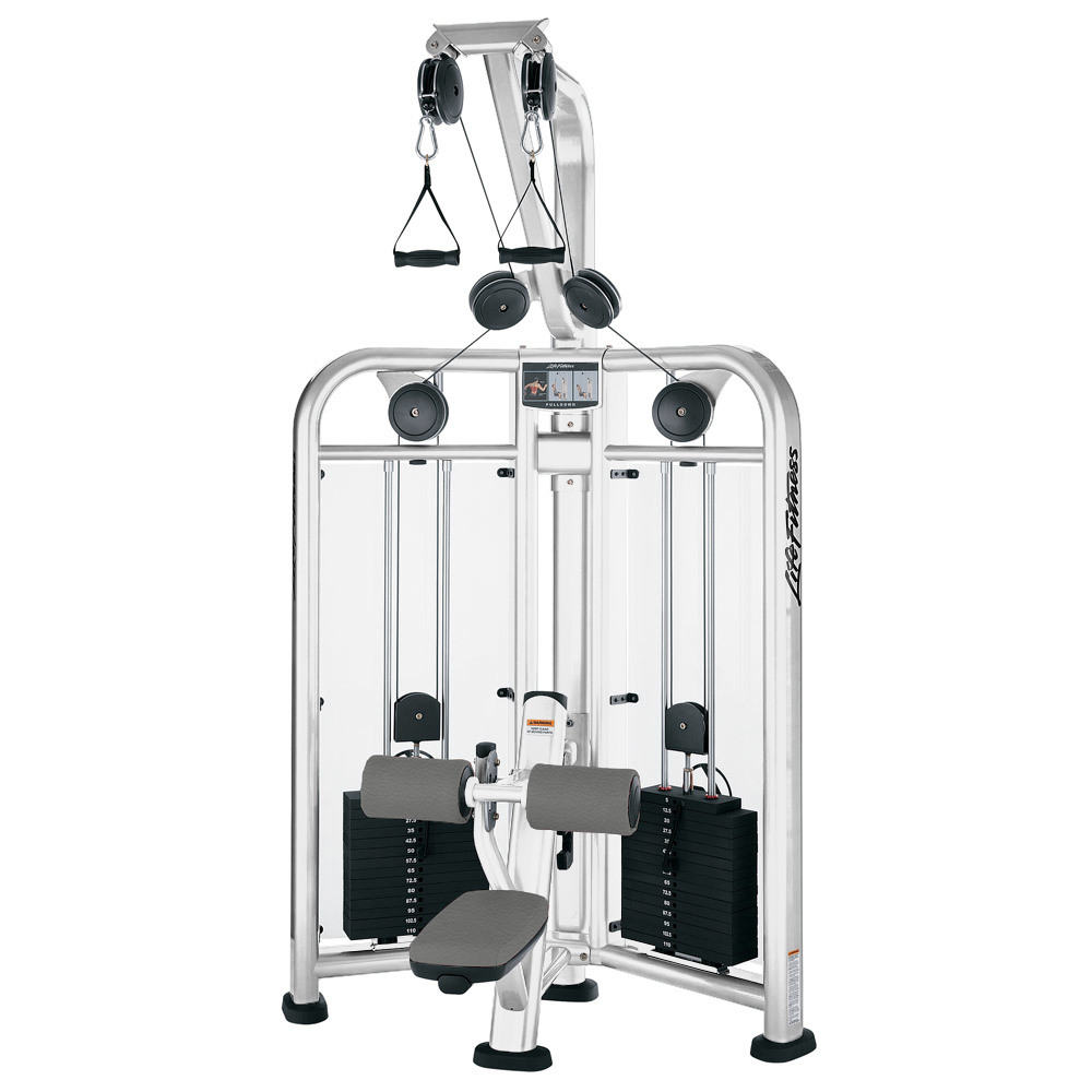 Life Fitness Series Dual Pulldown Two Stack