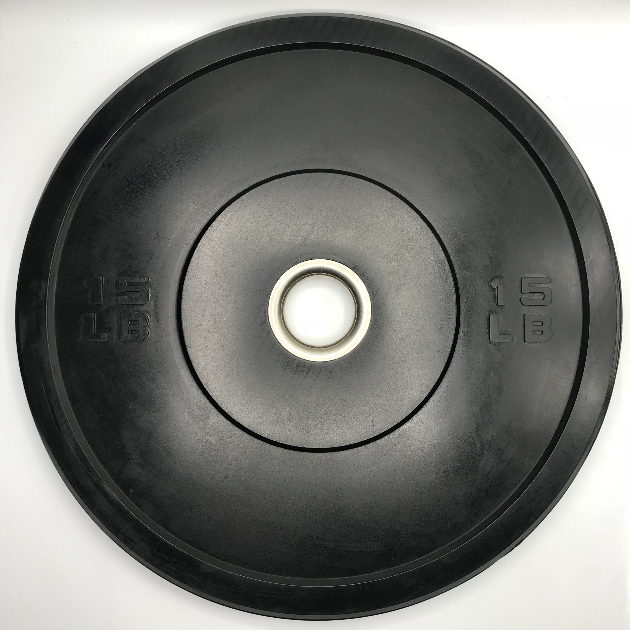 American Barbell Black Sport Bumper Plates