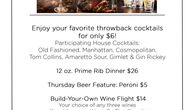 Primo- Thursday Specials